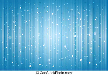 Snow Abstract Background - Snow falling and lines dropping...