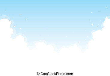 Bright Cloud Background