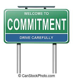 compromiso, concepto