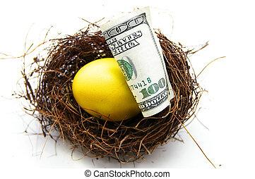 nest egg gold