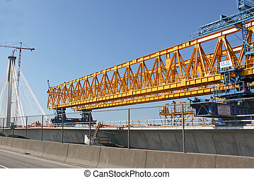 PortMann Bridge construction Canada - PortMann Bridge...