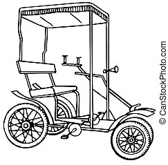 Vintage transport - Vintage bicycle