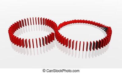 Domino - 3D Domino concept