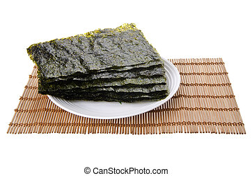 seaweed dry seaweed on background - seaweed dry seaweed on...
