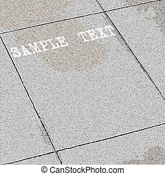 Vector background of tiles ground
