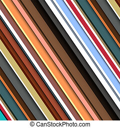 Striped pattern in retro colors