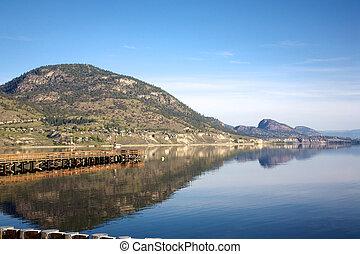 Lake Okanagan in British Columbia Canada