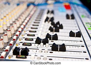 musik, blandare