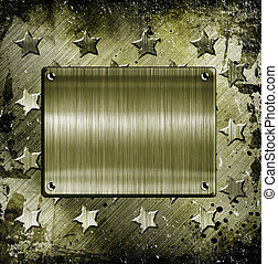 Military Grunge background - Military Grunge With place for...