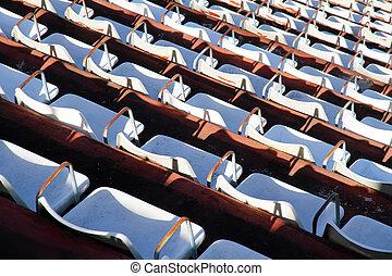 Empty tribune - A empty tribune in Buenos Aires.