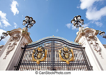 Buckingham Palace London England UK