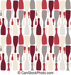 Vector background with bottles. Good for restaurant or bar...