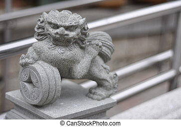 Wong Tai Sin Chinese lion deity 2 - the Wong Tai Sin Chinese...