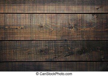 dark brown boards background - horizontal - dark brown...