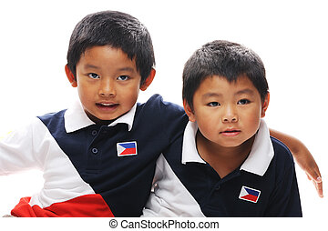 Filipino Brothers - Asian brothers from the philippines
