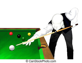 Snooker Player - Snooker : Young Professional Snooker Player...