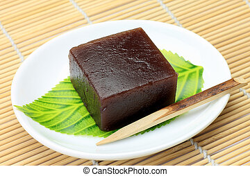 Japanese sweet  - This is a Japanese sweet.