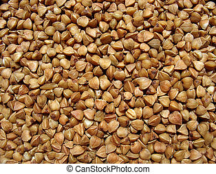 Buckwheat close up Background - Buckwheat background Close...