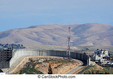 Israel West Bank Barrier - The Israel West Bank Barrier, a...