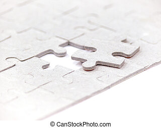 Folding puzzle. A background. Game.