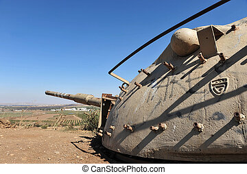 Travel Photos of Israel - Golan Heights - An old and...