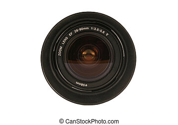 28-80mm Dslr Camera lens - A 28-80mm Dslr Camera lens on...