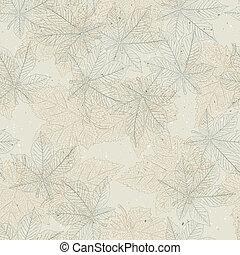 Autumn seamless pattern. Vector, EPS10