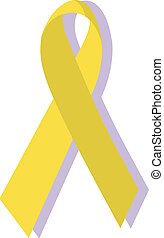 Yellow ribbon, military support