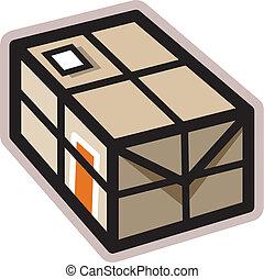 A parcel box