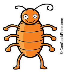 cucaracha, feliz