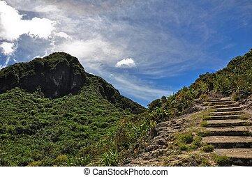 Gunung Sibayak - gunung sibayak at North Sumatera in...
