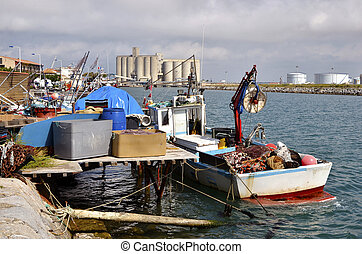 Commercial port of Port-la-Nouvelle - Commercial port and...