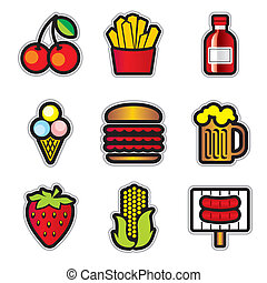 food contur icons