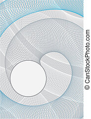 Abstract Circle Background - Background image is formed by...