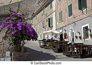 old village in Tuscany