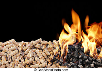 Wood Pellets - Burning Wood Pellets. Wood pellets are a type...