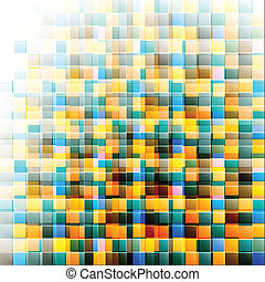 Abstract mosaic background. Vector illustration, EPS10