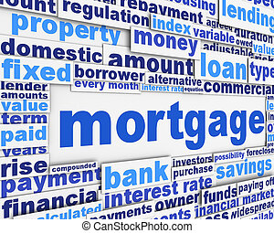 Mortgage poster conceptual design