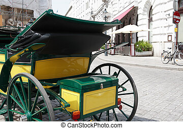 Carriage On The Street