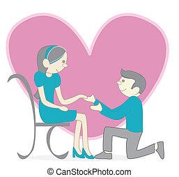 Couple love
