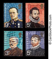 taxa postal, selos
