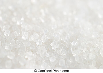 Close-up of sugar crystals