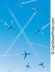 Flying airplanes