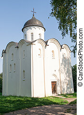 old church in historical fortress