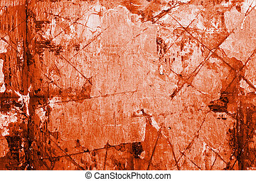 Grunge background taken from the old scratched wall. Bloody...