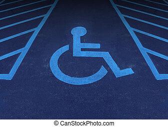 discapacitada / discapacitado, y, incapacitado