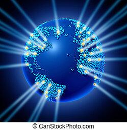 global, réseau