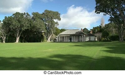 Waitangi grounds - Treaty house