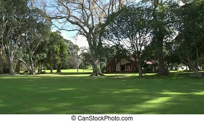 Waitangi grounds - Meeting house - The maori meeting house...