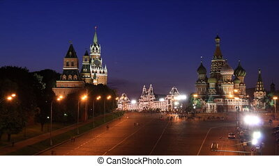 Kremlin and Saint Basil's Cathedral